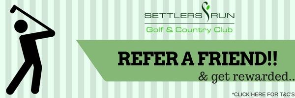Golf Membership Referral Program