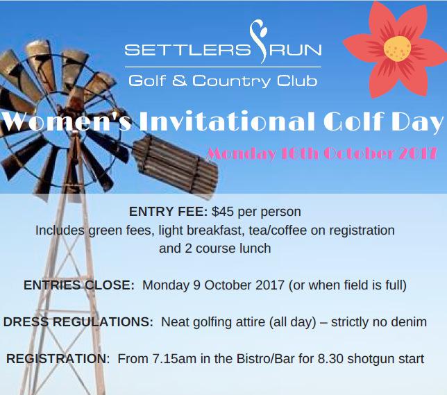 Women's Invitational Day