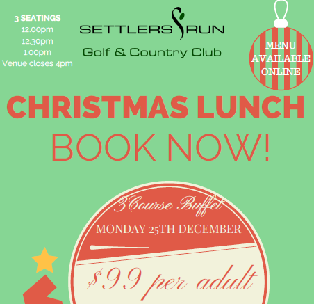 Christmas Day Lunch - Booked out