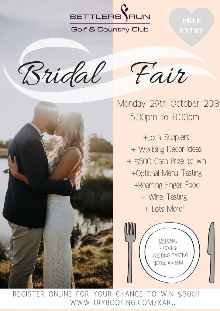 Settlers Run Bridal Fair
