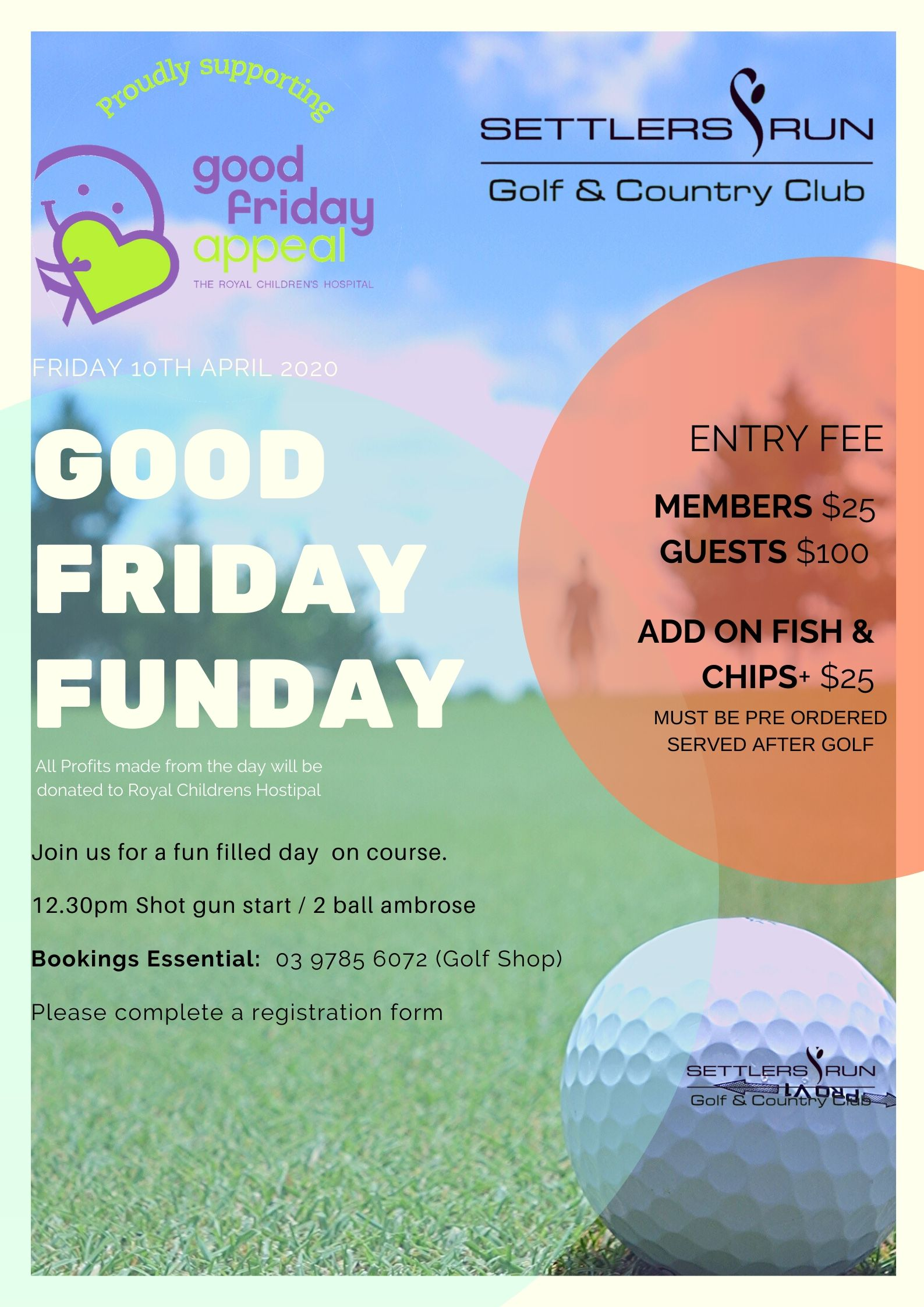 Good Friday Golf Fun Day