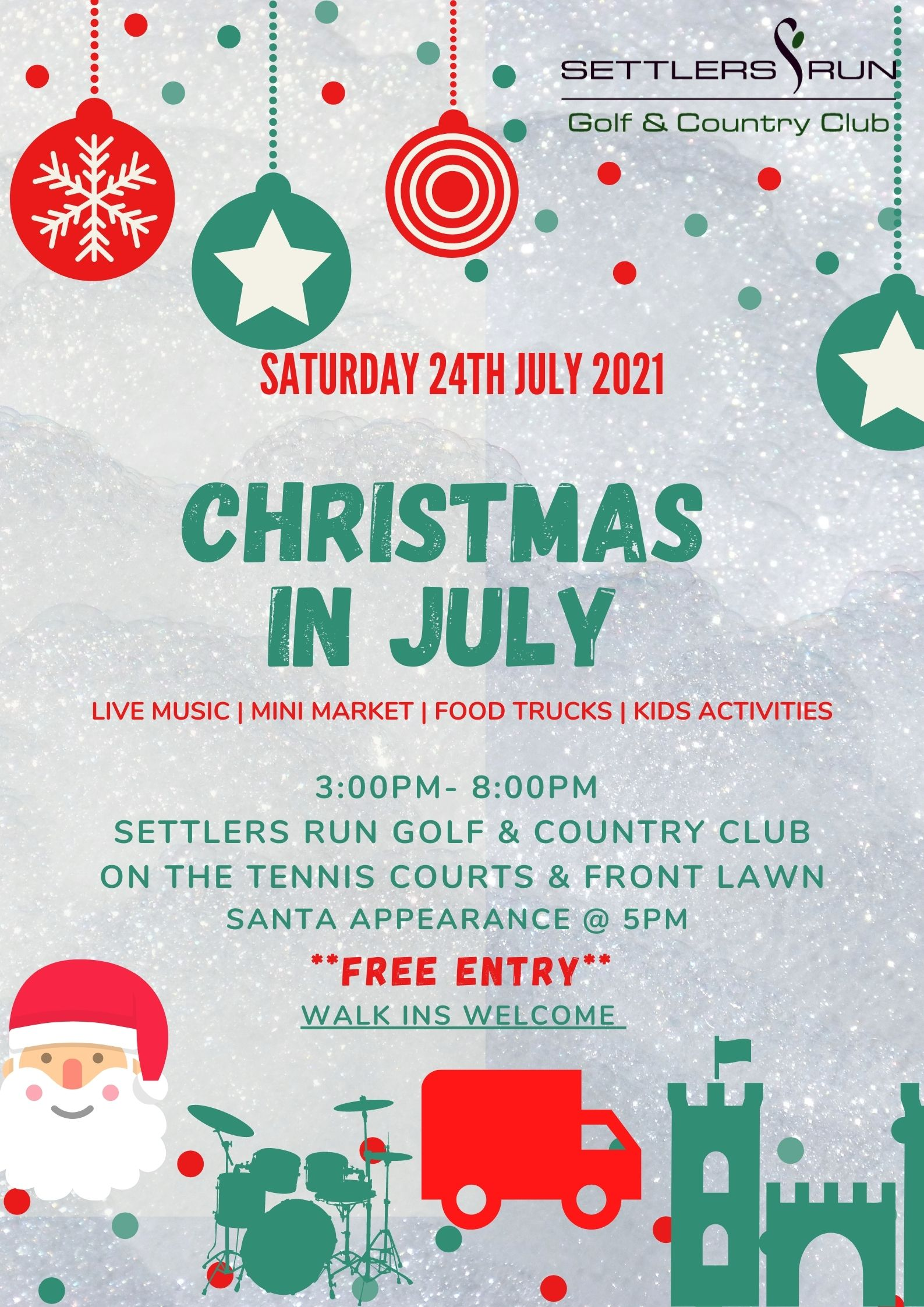 Christmas In July @ Settlers Run