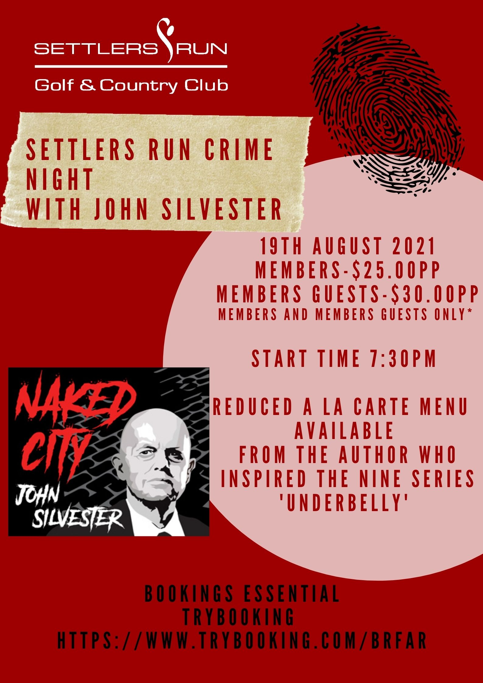 Crime Night with John Silvester